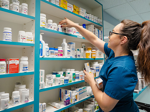 Picking medication for patients